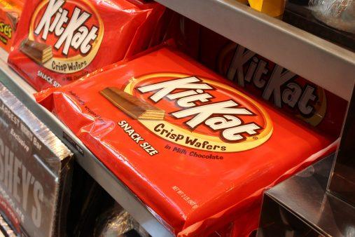 Immense tablette de Kit Kat
