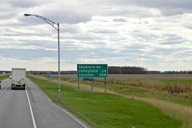 Encore 488km jusqu'à Toronto!