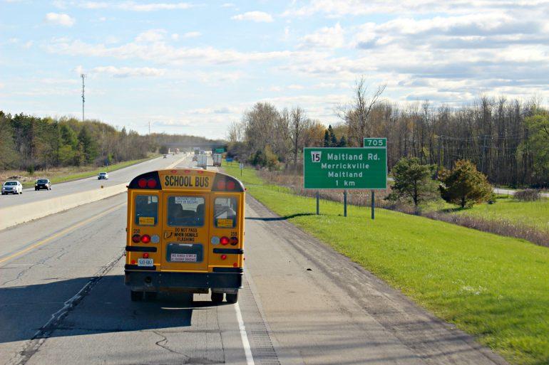 Trajet Montréal Toronto avec Megabus