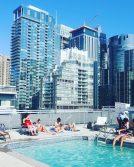Aprem piscine chez des amis à Montréal