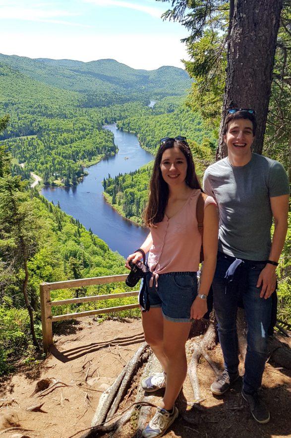Randonnée l'Éperon au Parc National de la Jacques Cartier
