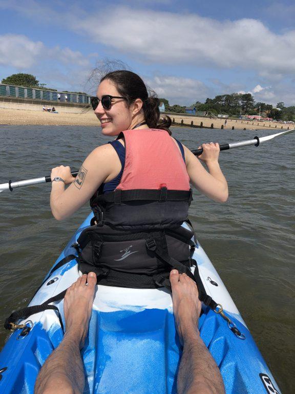 Kayak île de Wight