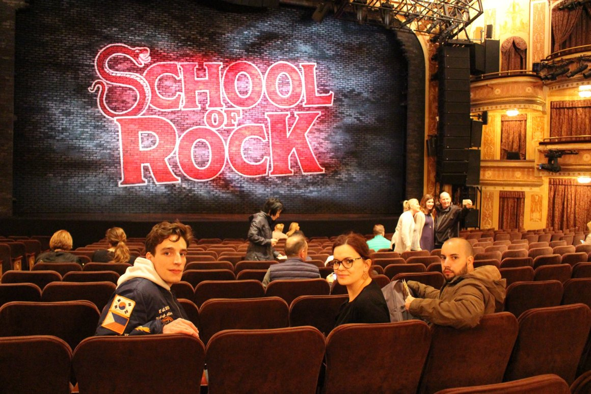 Comédie Musicale School of Rock à New York