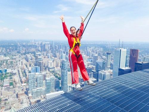 CN Tower - L'haut-da-cieux