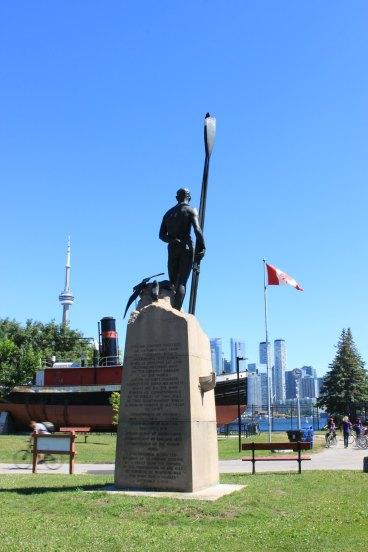 Statue de Ned Hanlan