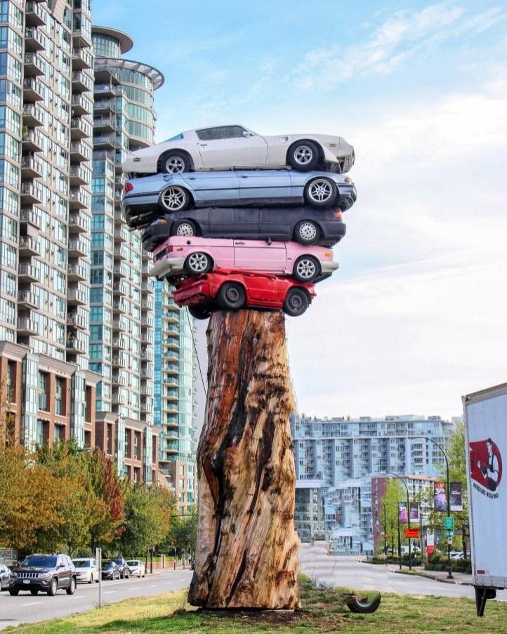 Trans Am Totem à Vancouver - Colombie Britannique