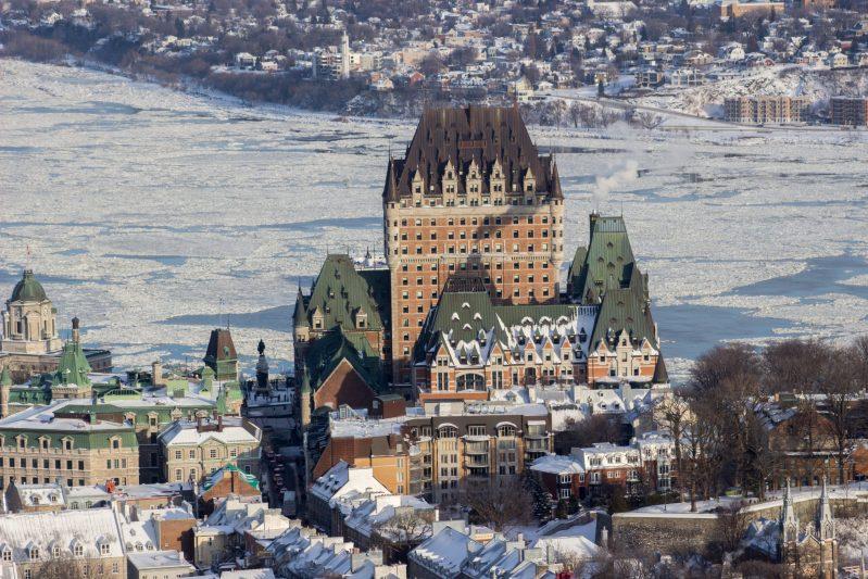 Ville de Québec en hiver