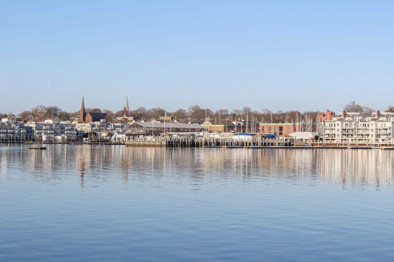 Vista di Newport da King Park