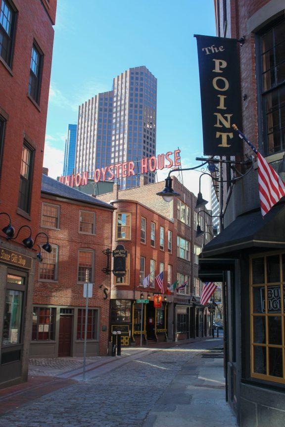 Centre historique de Boston - Soif de Voyages