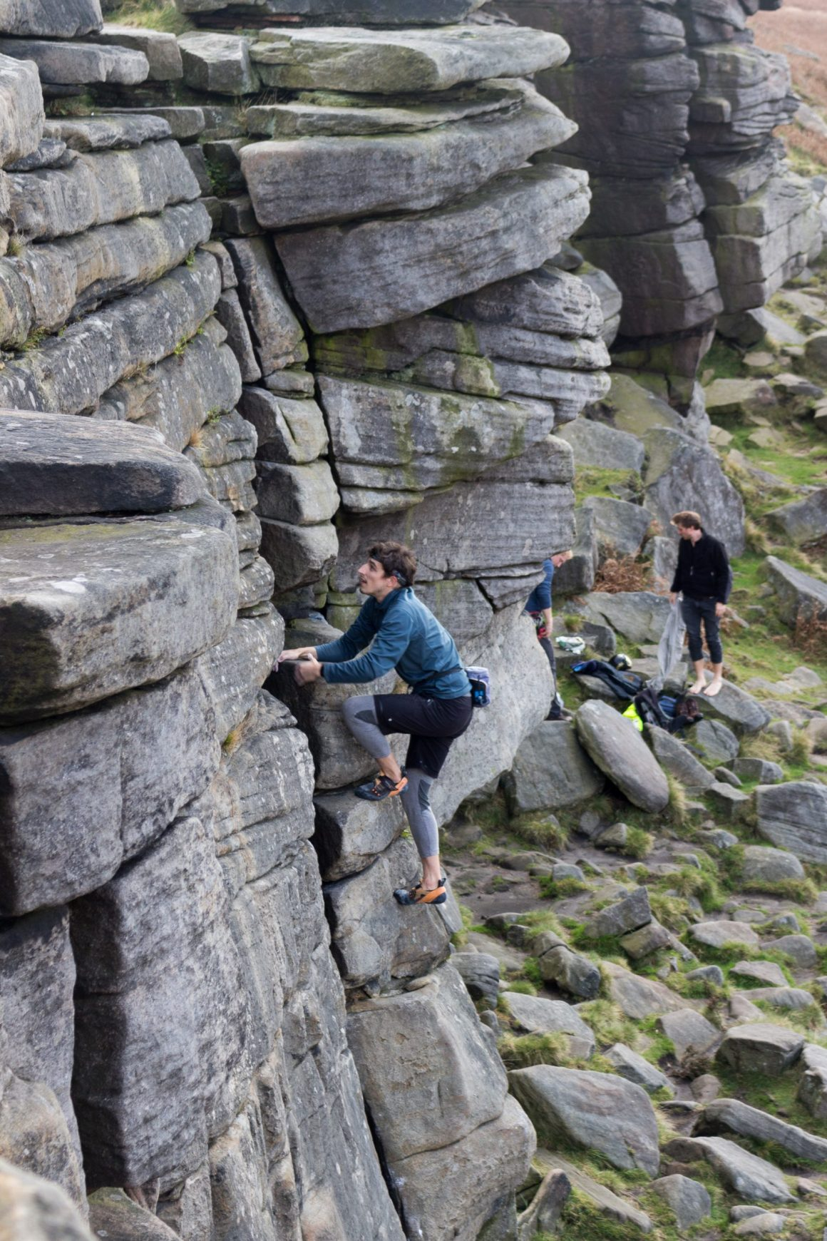 Faire de l'escalade dans le Peak District