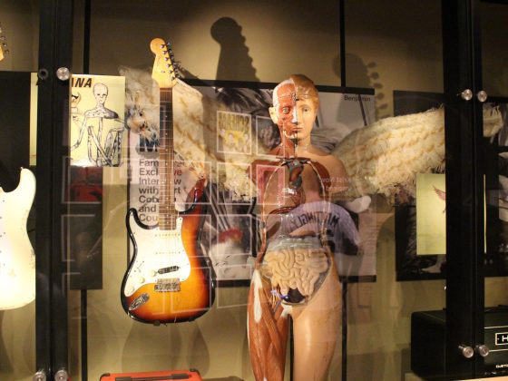 Exposition Nirvana Kurt Cobain musée de la pop culture seattle