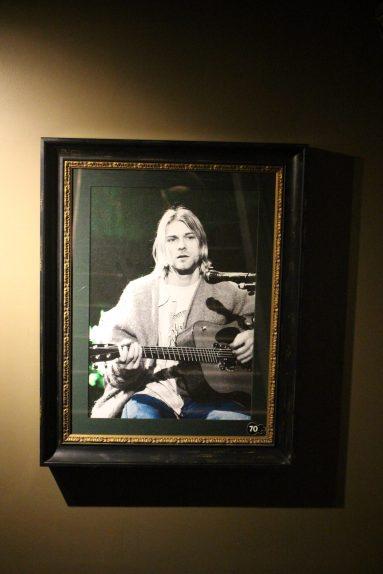 Hard Rock Café Seattle - Kurt Cobain