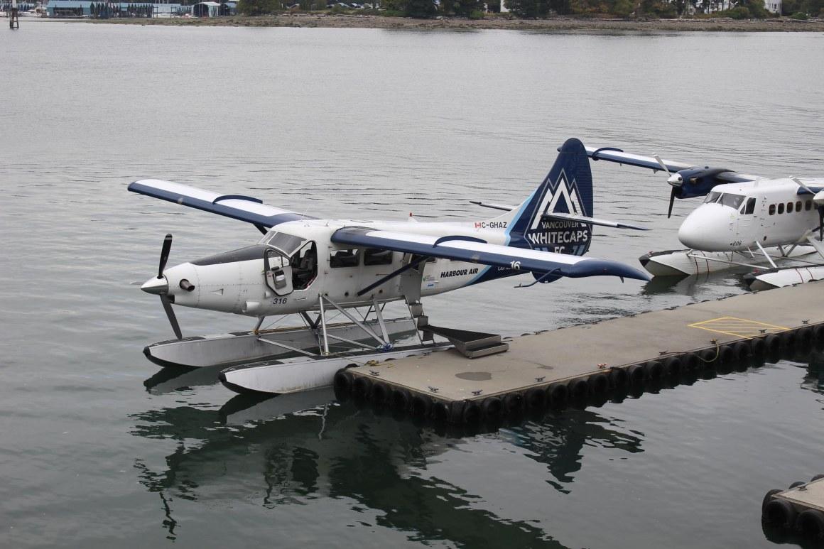 Hydravion à Vancouver