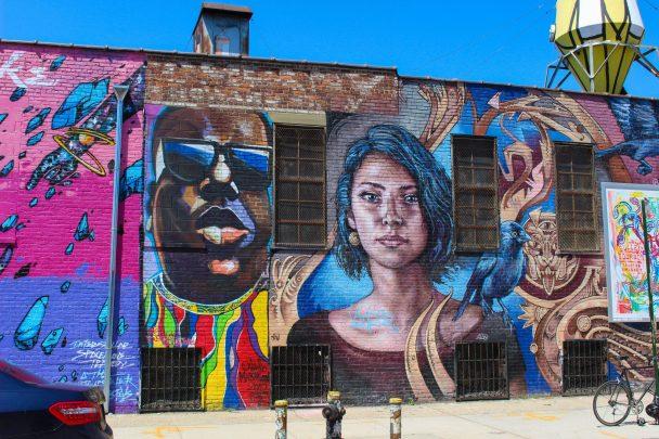 Street art à Bushwich