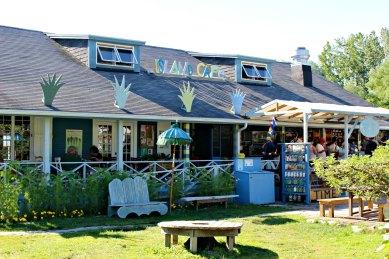 Island Café sur Ward's Island