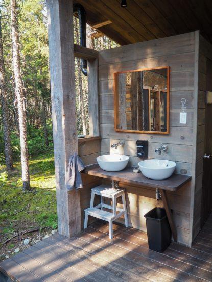 La salle de bain chez Kabania