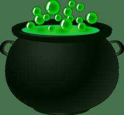 jus de légumes verts ou potion magique