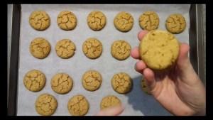 cuisson biscuit rousquille fondante sans gluten