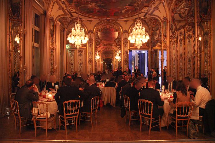 Reportage photo événement soirée à la maison Baccarat