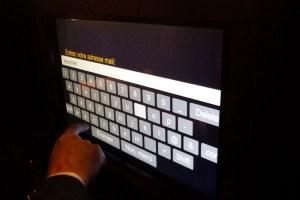photo box ecran tactile