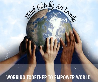 Image result for think globally act locally