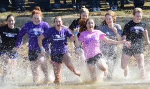 Annual Polar Plunge Takes on Added Meaning this Winter