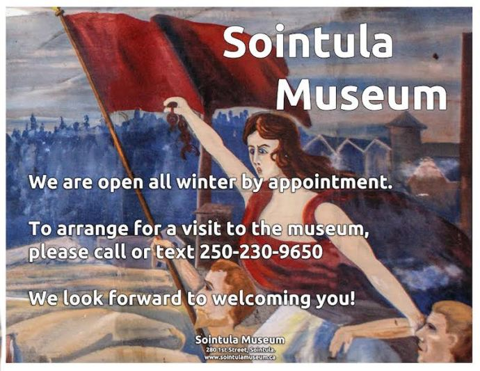 Sointula Museum Winter 2018 hours