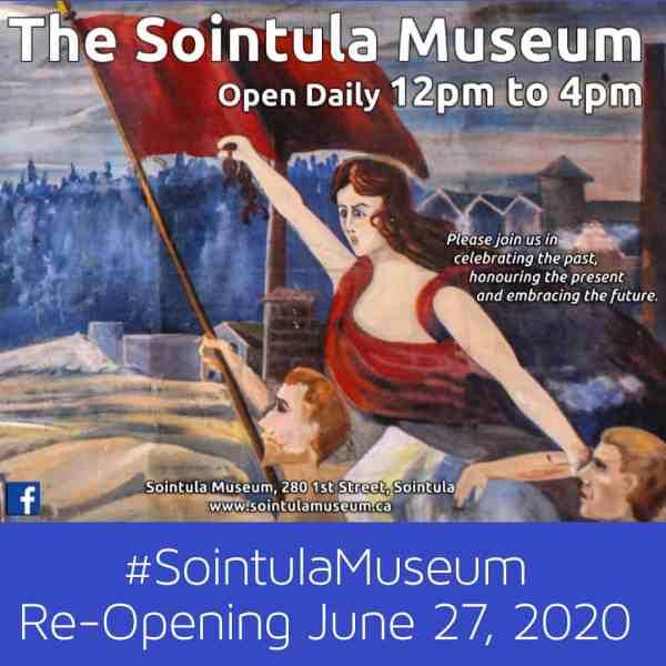 Museum re-opening June 27, 2020