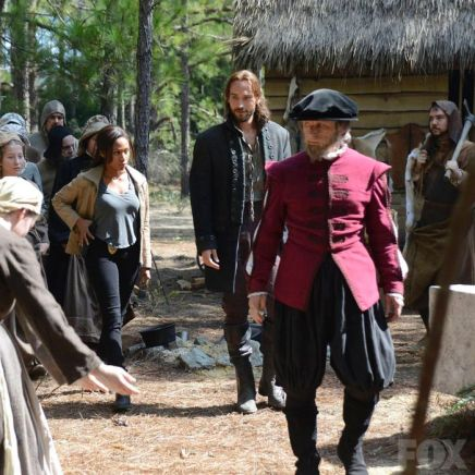 Abbie and Ichabod in Roanoke