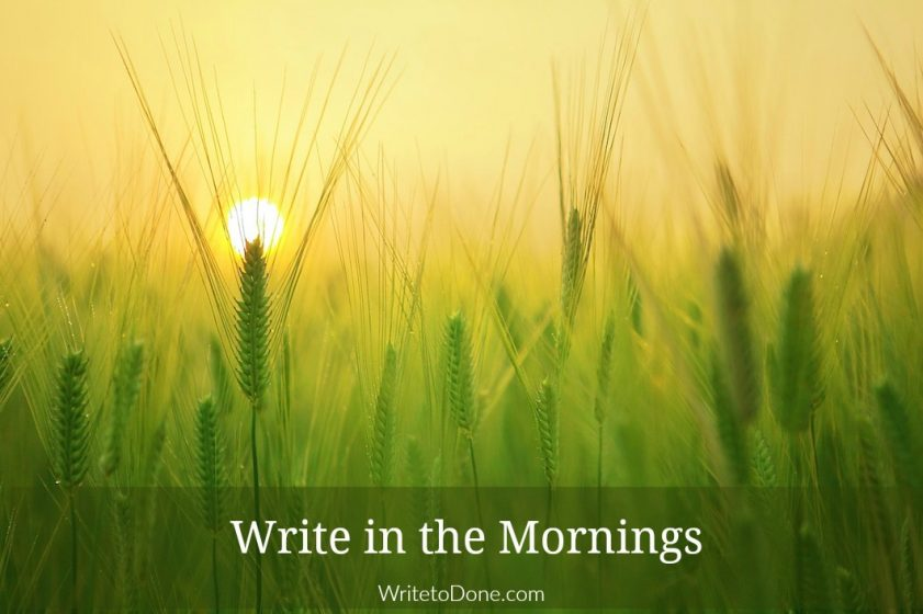 write-first-time-in-the-morning