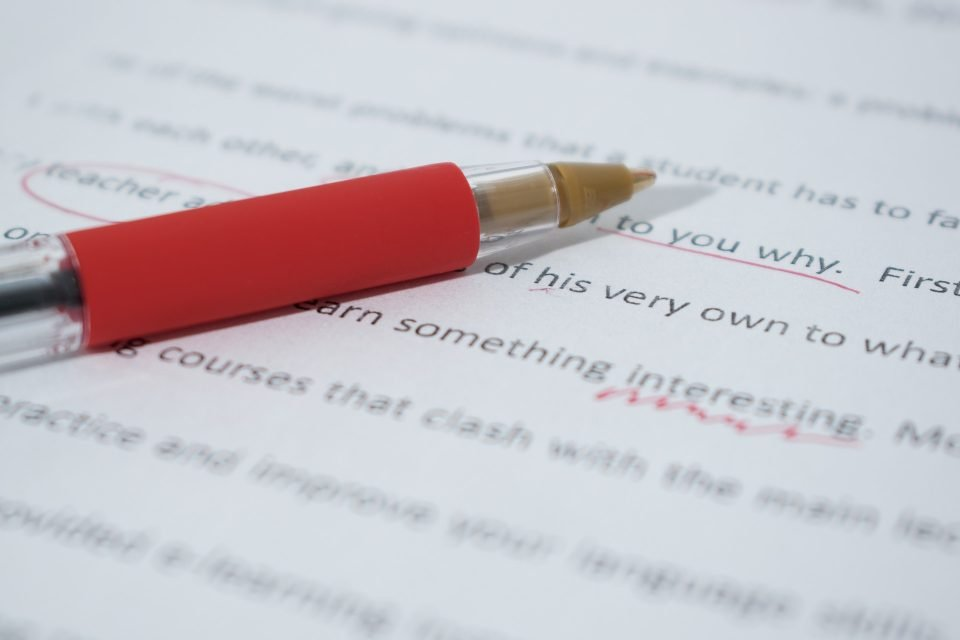 4 common Writing Mistakes