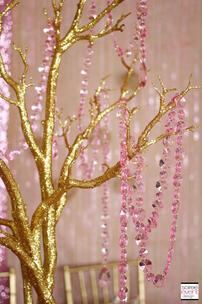Trend Alert Rustic Glam Pink  Gold Wedding  Soiree