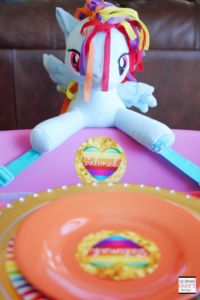 Trend Alert My Little Pony Rainbow Party Design Tips