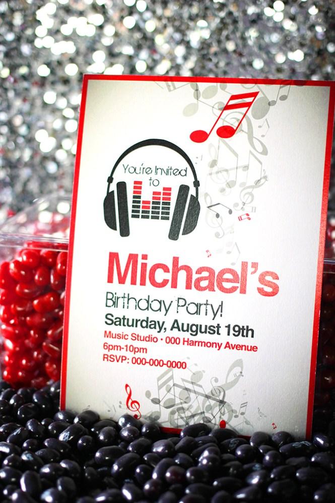rock star birthday party invitation boy templates Cogimbous – Rockstar Birthday Party Invitations