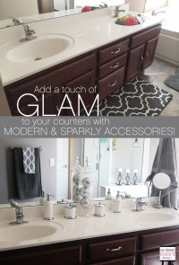 Project Home Redecorate: How to Glam up your Bathroom with