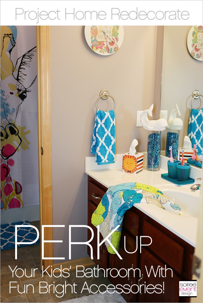 Project Home Redecorate Perk Up Your Kid's Bathroom With