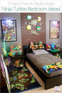 Project Home Redecorate: Ninja Turtles Bedroom Ideas