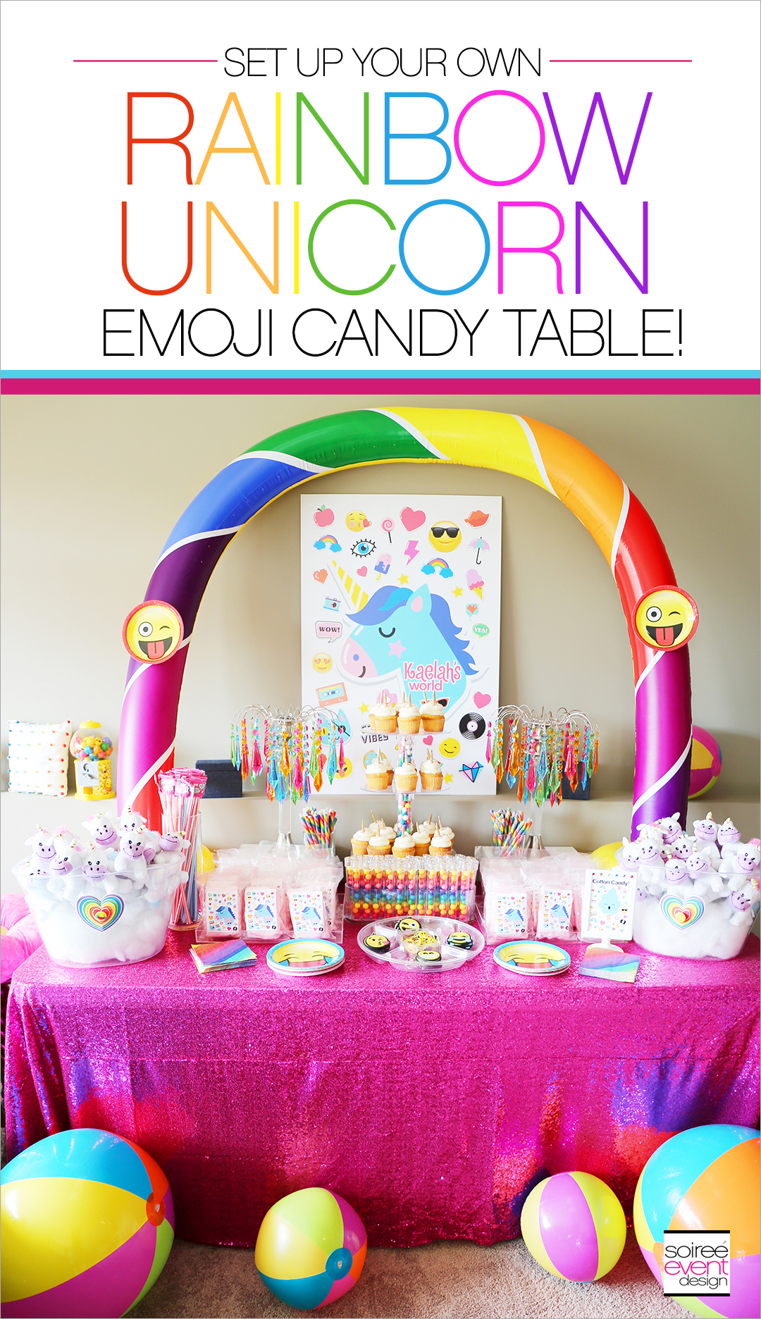 folding chair emoji arm covers for sale unicorn candy table baby moana