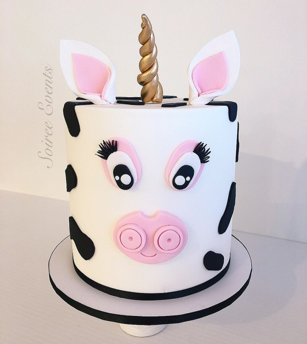 Unicorn Cow Cake
