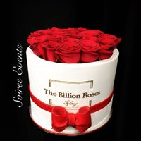the billion roses cake