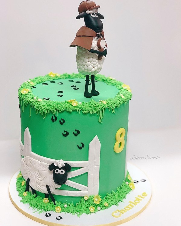 shaun the sheep cake 1