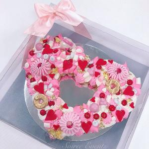 Love Heart Cookie Cake