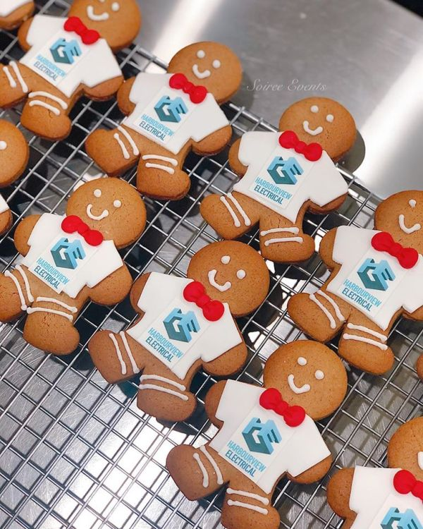 branded gingerbread men