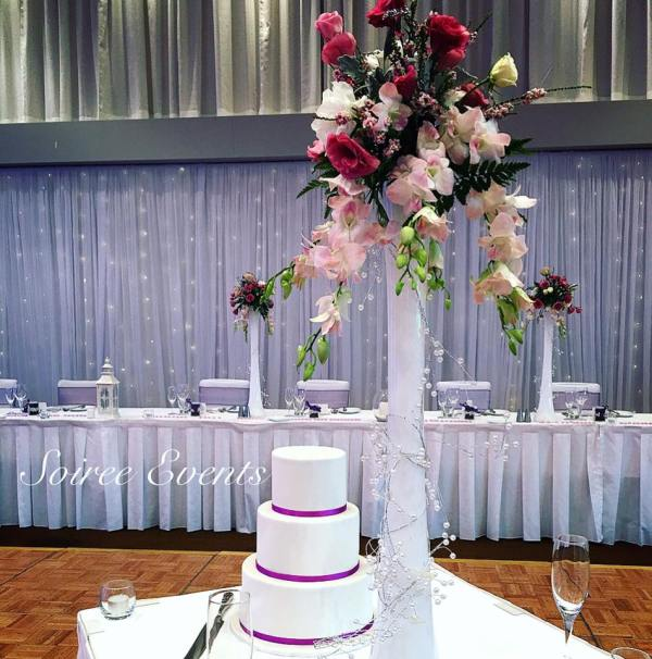 standard height 3 tier cake