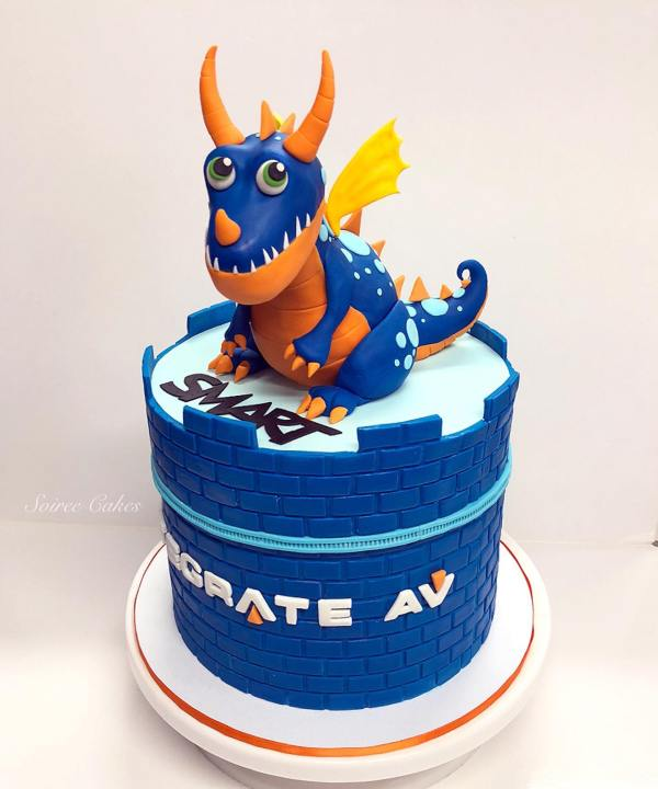 integrate av dragon cake