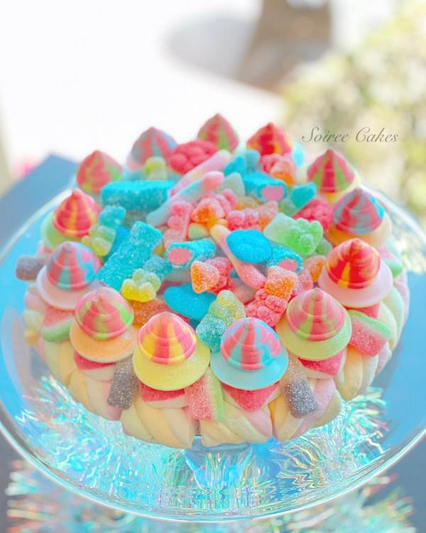 fizzy lolly cake