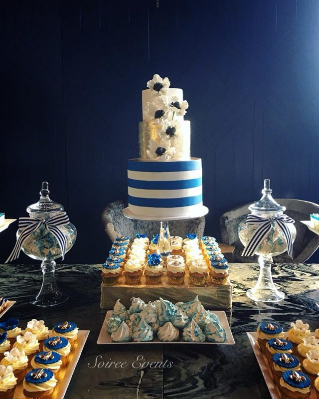 TPG french riviera dessert table