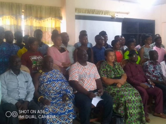MP for Awutu Senya West present Scholarships to 30 Students in her Constituency