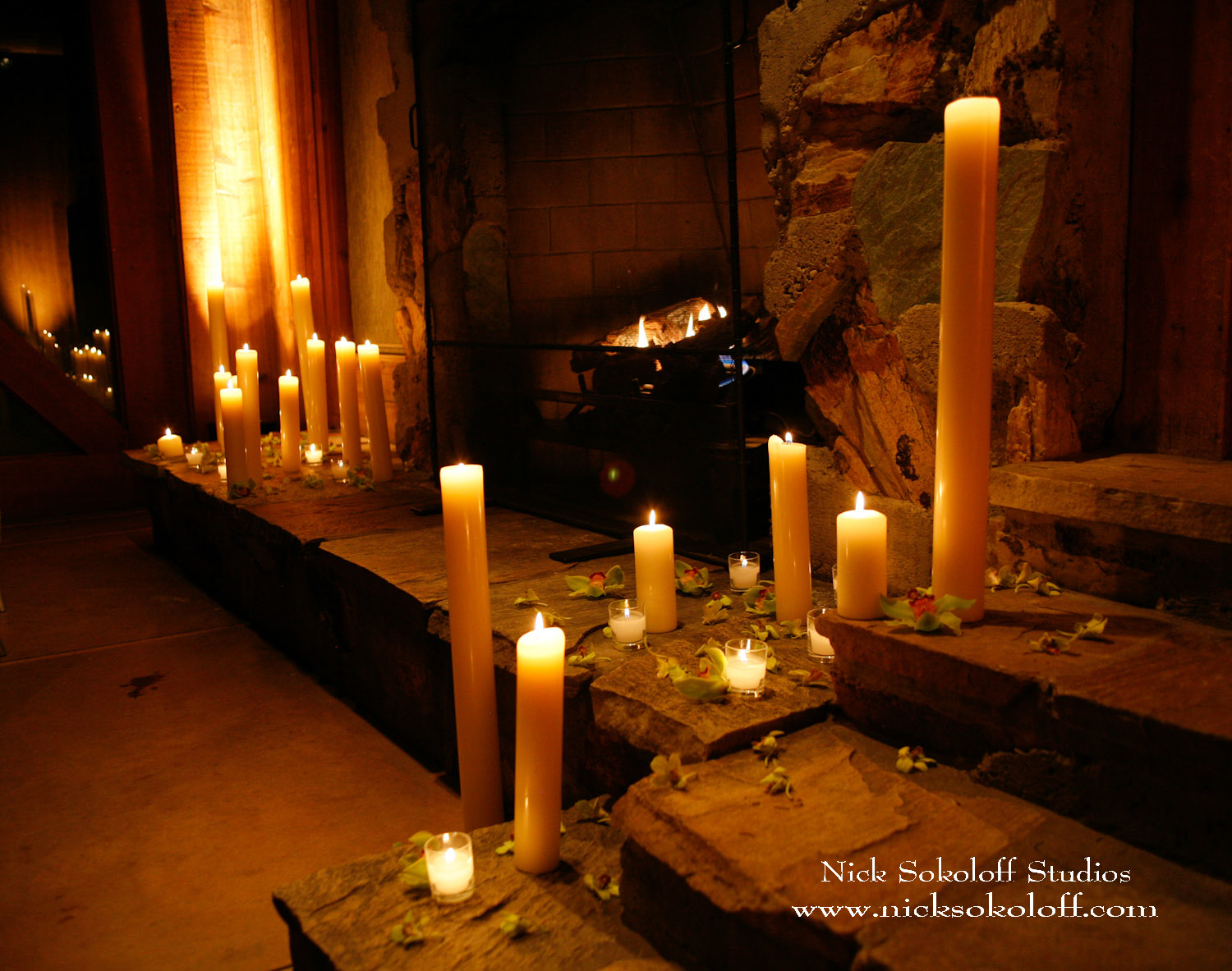Wiring A Light Room Candlelight Wedding Ceremony