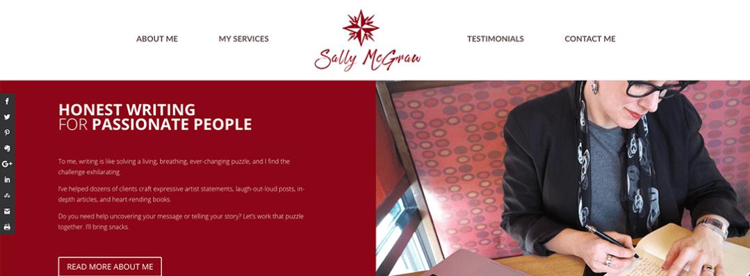 Sally McGraw website